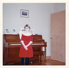 9yearold with piano
